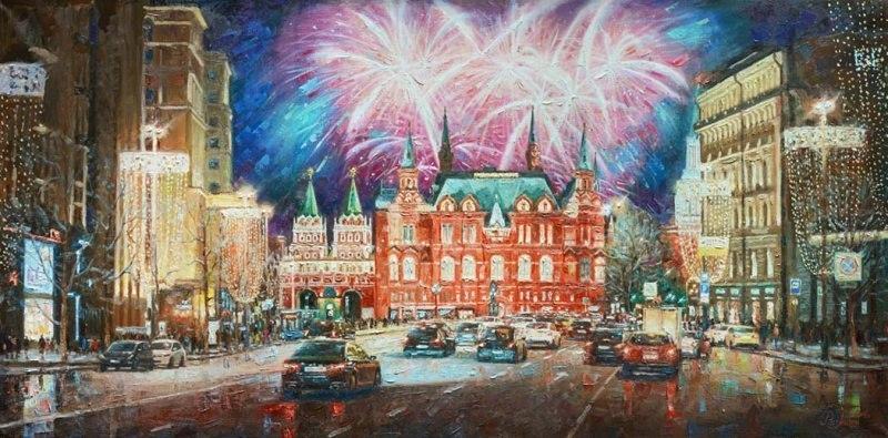 Столица в праздничных огнях