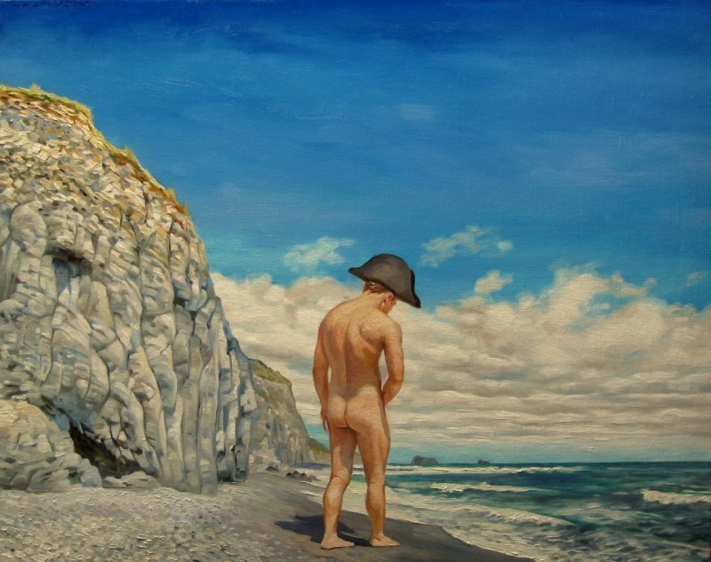 Островной пейзаж с Наполеоном