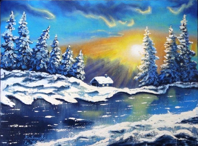 И солнце зимнее взошло...