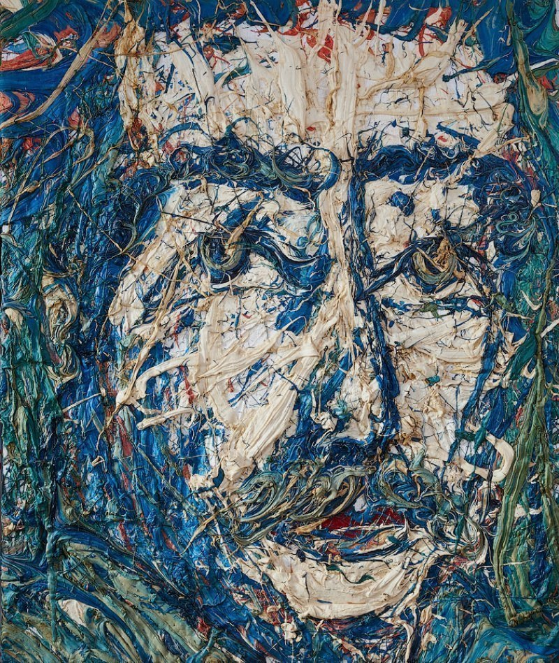 Портрет писателя живопись Екатерина Лебедева художник