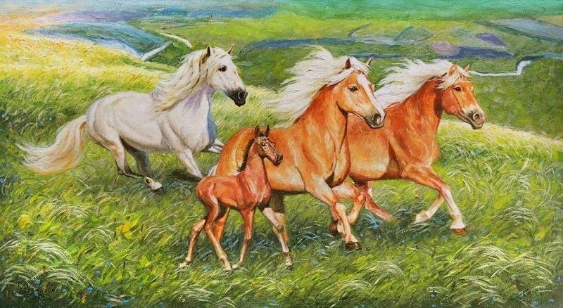 Когда кони топтали ковыль...