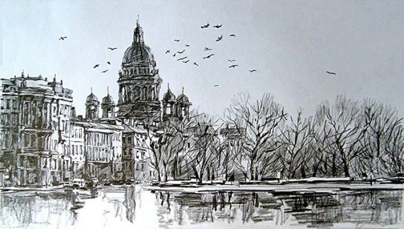 Петербург после дождя
