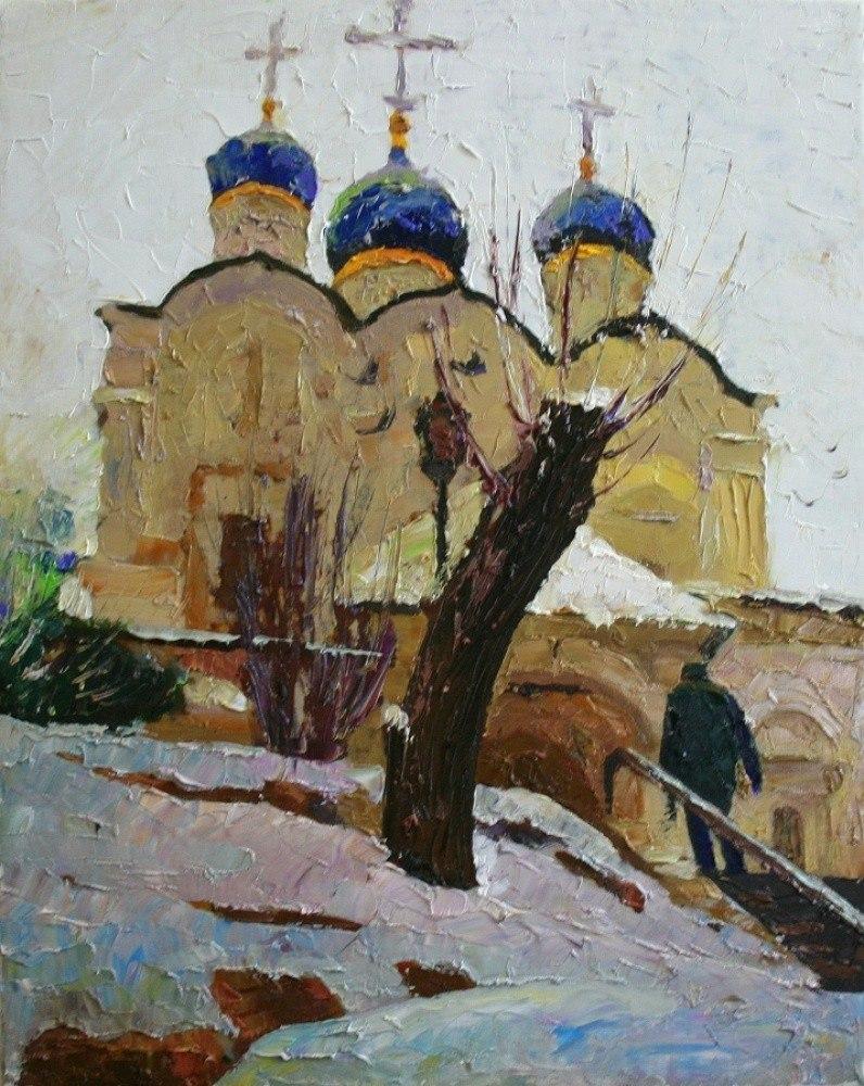 Москва. Церковь князя Владимира